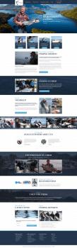 Дизайн сайта рыболовли