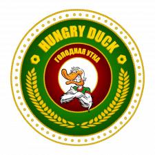 """Логотип """"Hungry duck"""""""