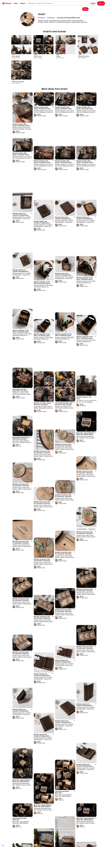 Wooden Puzzle, box, Gifts, Cup holder, Music box