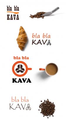 логотипы для сети кондитерских Bla Bla Kava