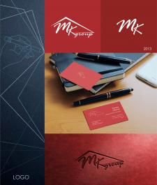 логотип для кровельной компании MKgroup 2013