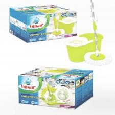 Дизайн упаковки для набора для мытья пола