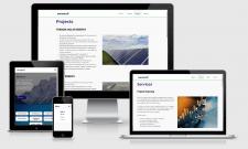 Корпоративный сайт для компании Enkueron