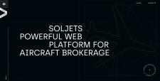 Soljets - landing page: (html/css/js)