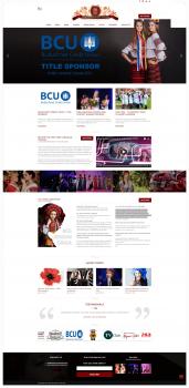 Сайт конкурса красоты в Канаде