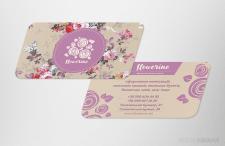 Визитная карта магазина «Flowerine»