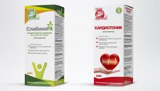 """Дизайн упаковки для """"Ключи Здоровья"""""""