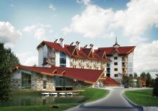 Отель в Карпатах-2
