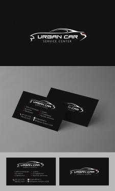 Разработка лого и визитки UrbanCAR