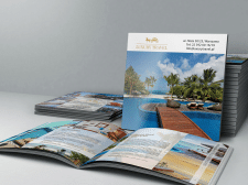 Верстка каталога Туризм