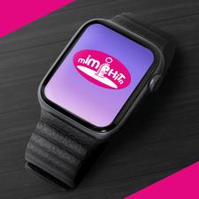 Логотип для бренду дитячих годинників