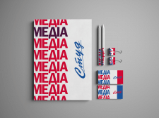 """Логотип та фірмовий стиль """"Студ медіа"""""""