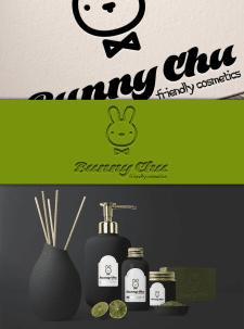 лого для косметики корейских брендов Bunny Chu