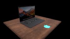 low poly  Apple mac book pro