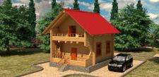 Моделирование и визуализация экстеръера дома