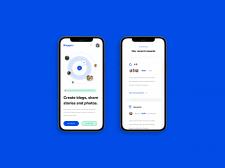 Дизайн Bloggers сайта мобильная версия