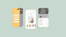Дизайн приложения для заказа еды