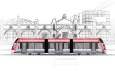Трамвай-BOMBARDIER-FLEXITY