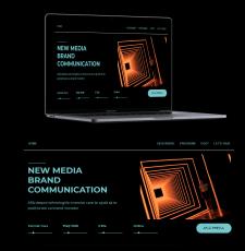 Дизайн для сайта онлайн курсов Riift