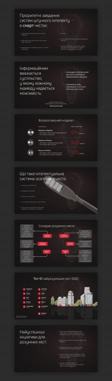 Виготовлення дизайн-макету для презентації