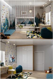 Спальня для мальчика
