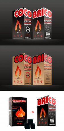 Cocobrico package redesign
