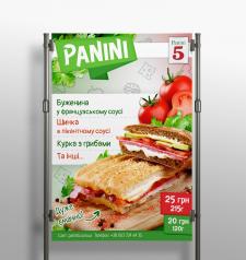Плакат для панини