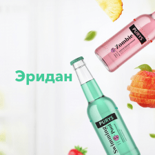 Разработка брендирования для лимонада ТМ Эридан