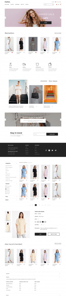 Дизайн интернет-магазина