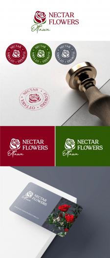 Логотип для NectarFlowersOttawa