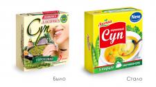 Редизайн упаковки супа