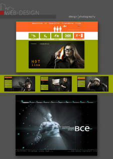портфолио: дизайн сайтов