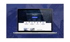 Дизайн сайта финансовой тематики
