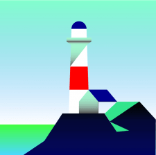 Иллюстрация маяк