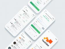 UI/UX дизайн приложения для таксистов