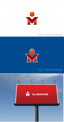 Логотип для строительного ТЦ Меркурий