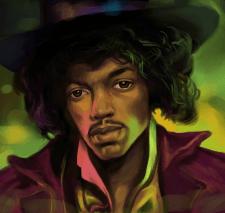 Портрет. Jimi Hendrix