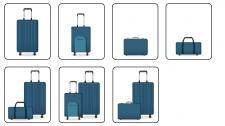 Иконки багажа для транспортной компании