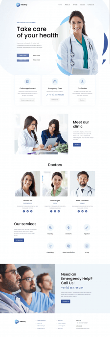 Корпоративный сайт компании, сайт визитка