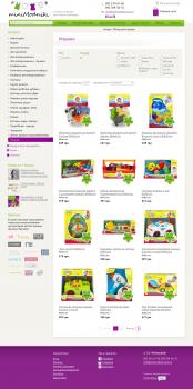 Наполнение категории игрушек (zteel.cms)