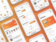 Мобильное приложение для онлайн платформы