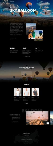 Дизайн и разработка Landing page