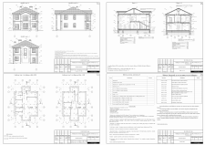Эскизный проект частного дома в Полтаве