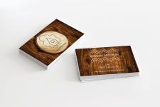 Верстка и дизайн визитки для кафе Скворечник