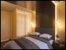 Дизайн интерьера квартиры 46м2 в скандинавском