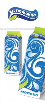 Устюжанка  |  логотип и упаковка молока