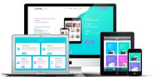 Дизайн промо-сайта вебстудии LexWeb Studio