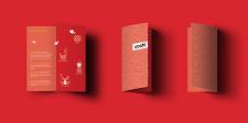 Рекламная брошюра для японского ресторана