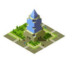 Архитектурный модуль для игры Вектор