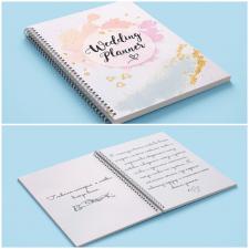 Дизайн для свадебного блокнота